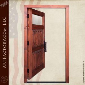 Rustic 3 panel door