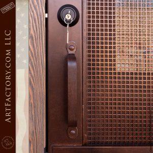 wrought iron door pull