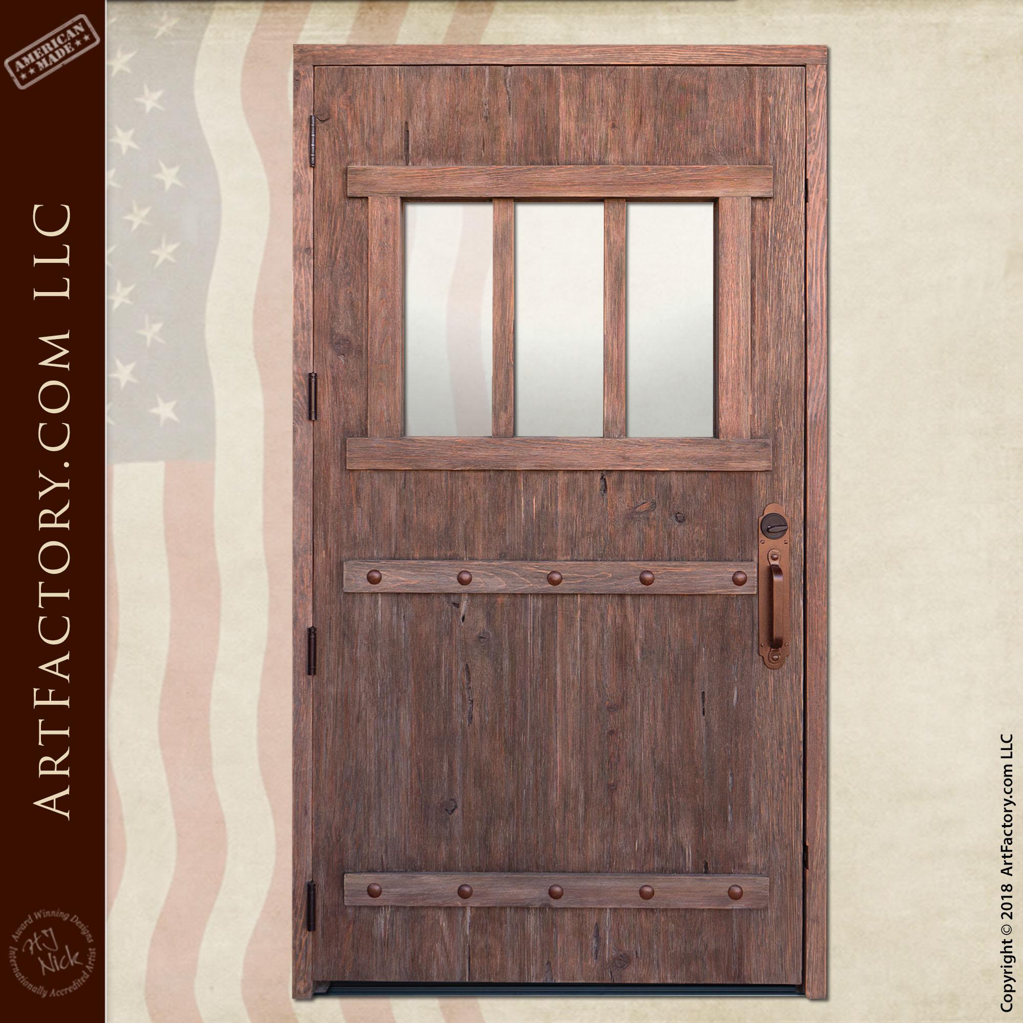 custom double fortress door