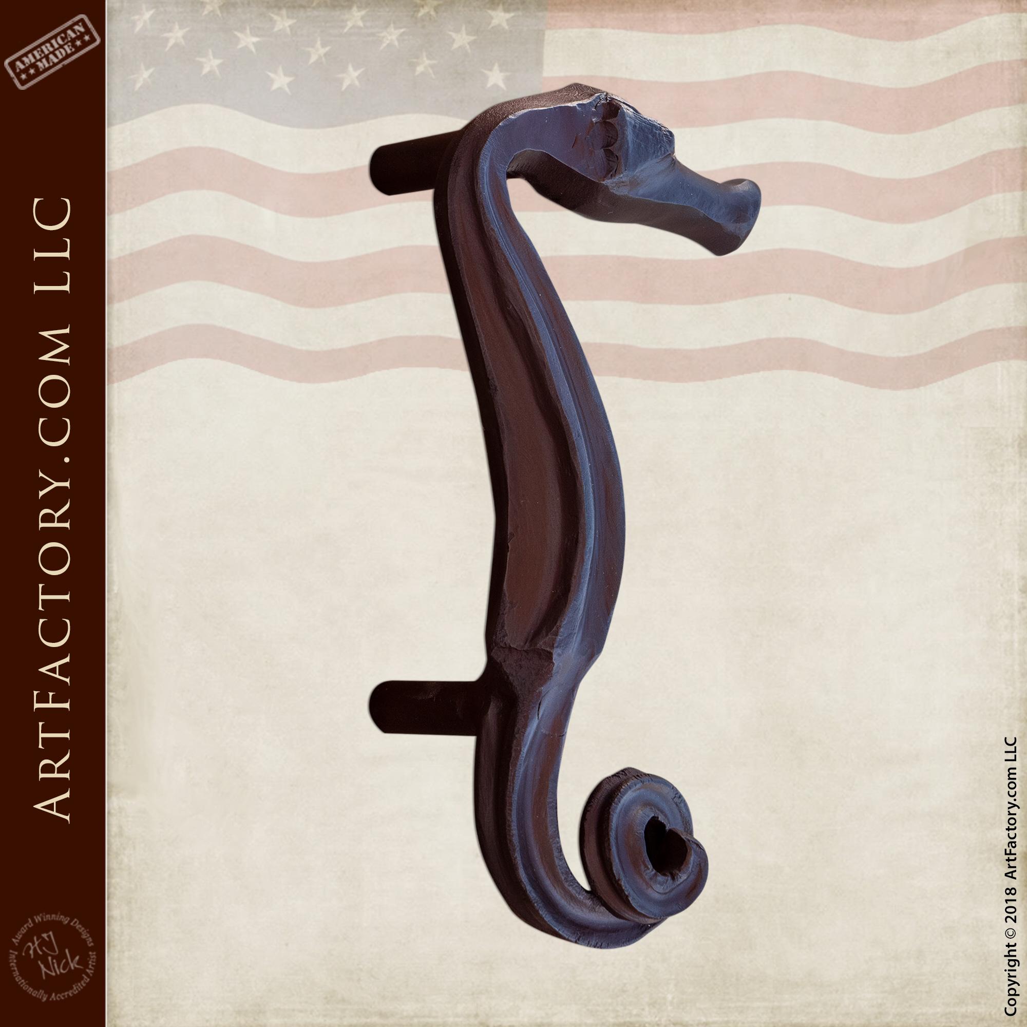 Seahorse Door Handle