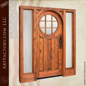 custom colonial handmade door