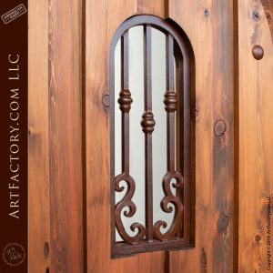 French Ironwork Viewing Window Grill