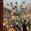Custom Birds Nest Bed: Blacksmith Forged Wrought Iron Fine Art Furniture