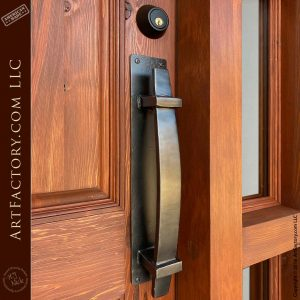 English lodge door pull
