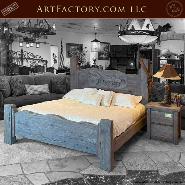 Fine Art Western Bedroom Set
