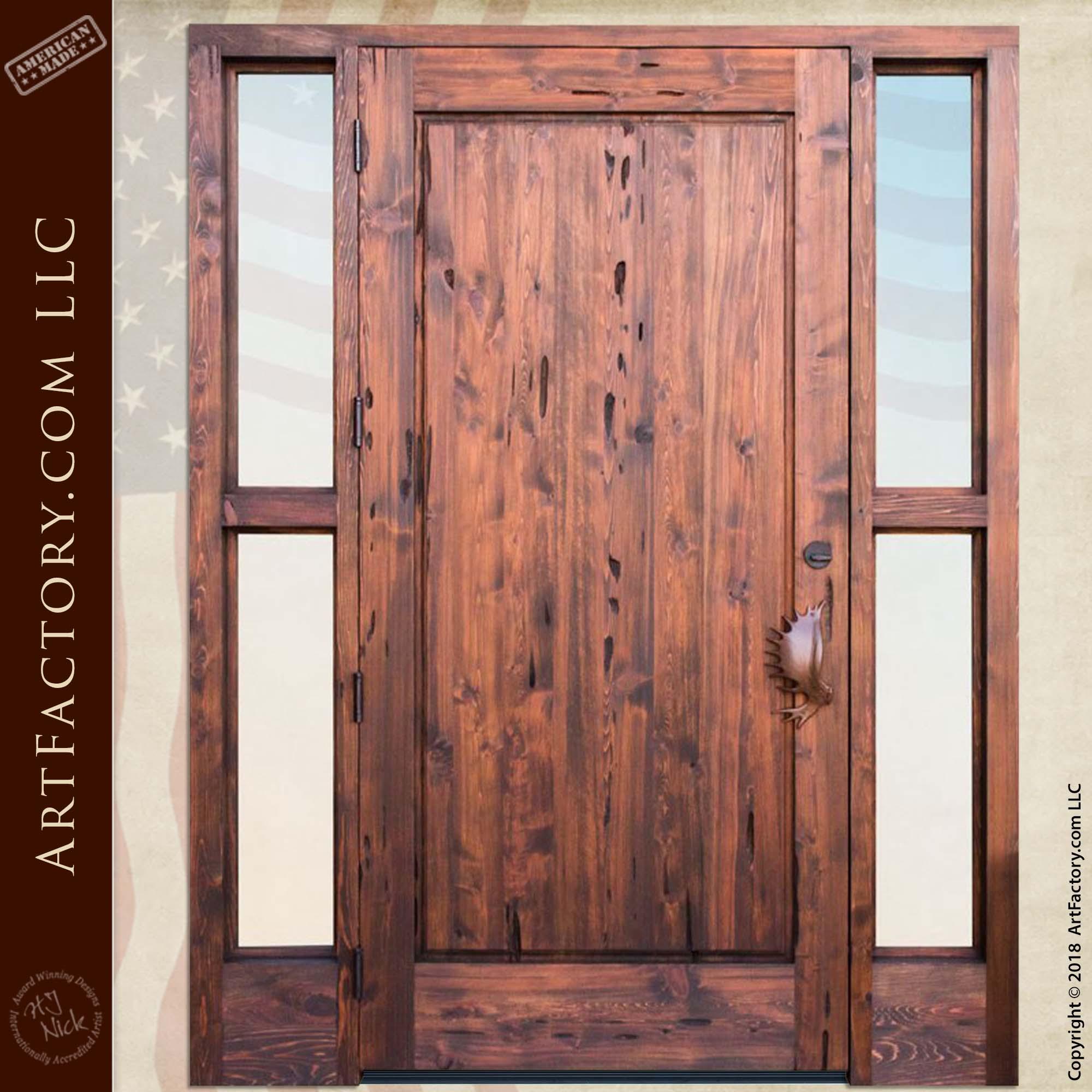 custom moose lodge front door rear
