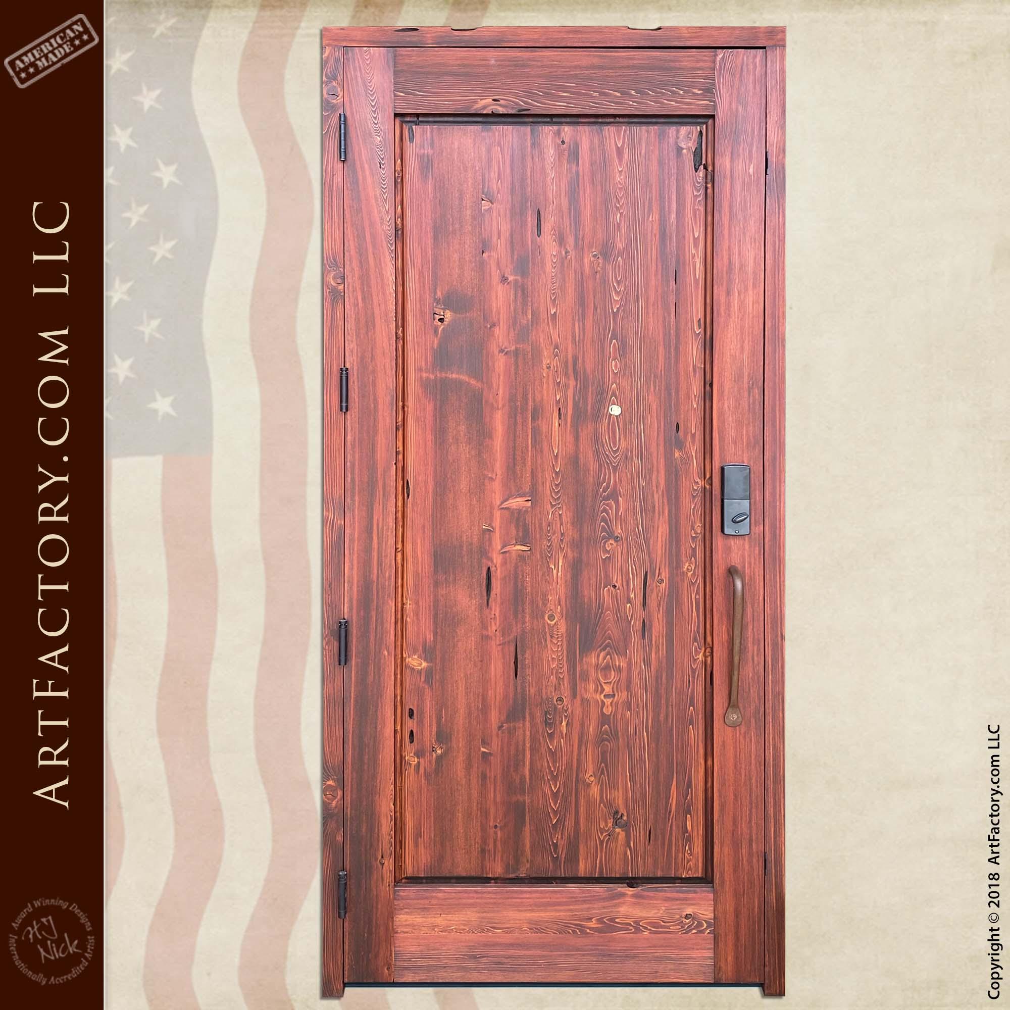 Custom Hand Carved Door