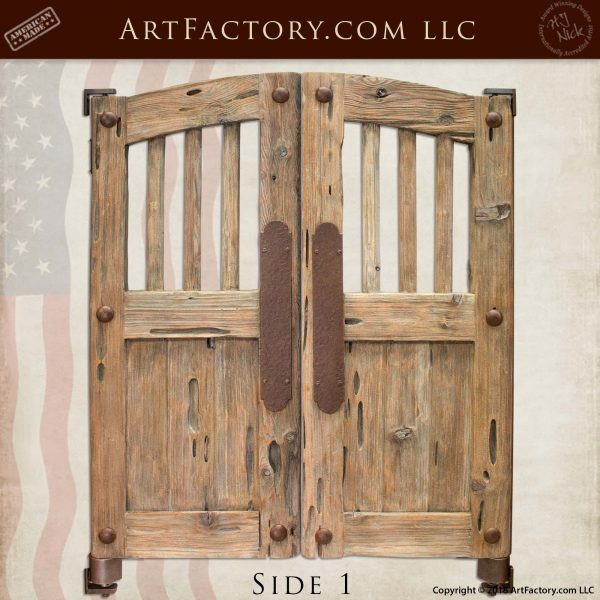 Old West Custom Saloon Doors