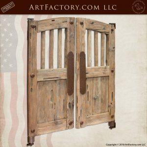 Old West Saloon Door