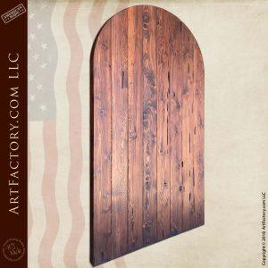 Vertical Planked Castle Door