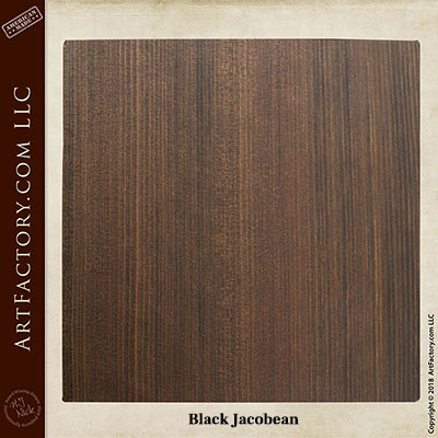 black jacobean sample