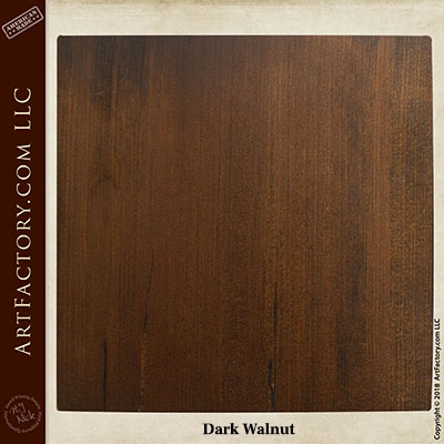 dark walnut sample