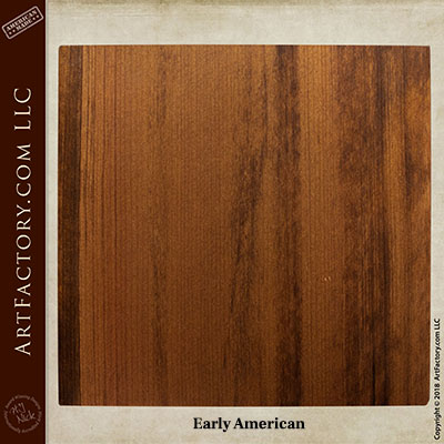 early American sample