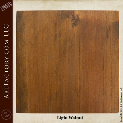 Light Walnut sample