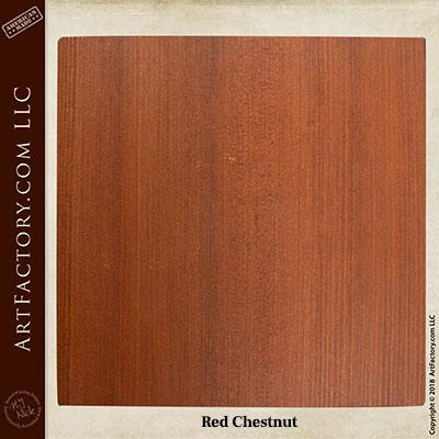 red chestnut sample