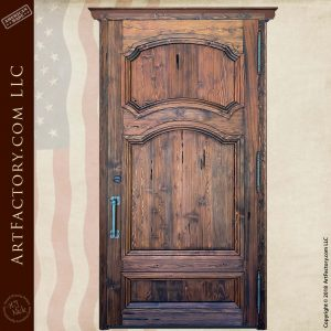 English Crest Custom Door back
