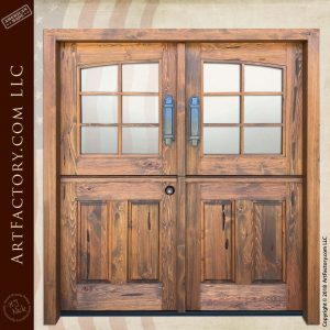 Custom Double Dutch Doors