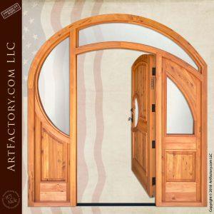 Art Deco Grand Entrance open position