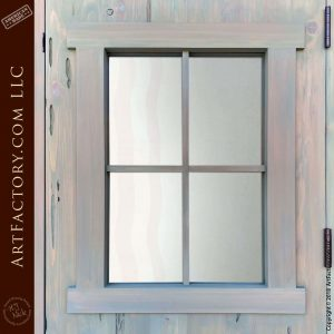 4 panel viewing window