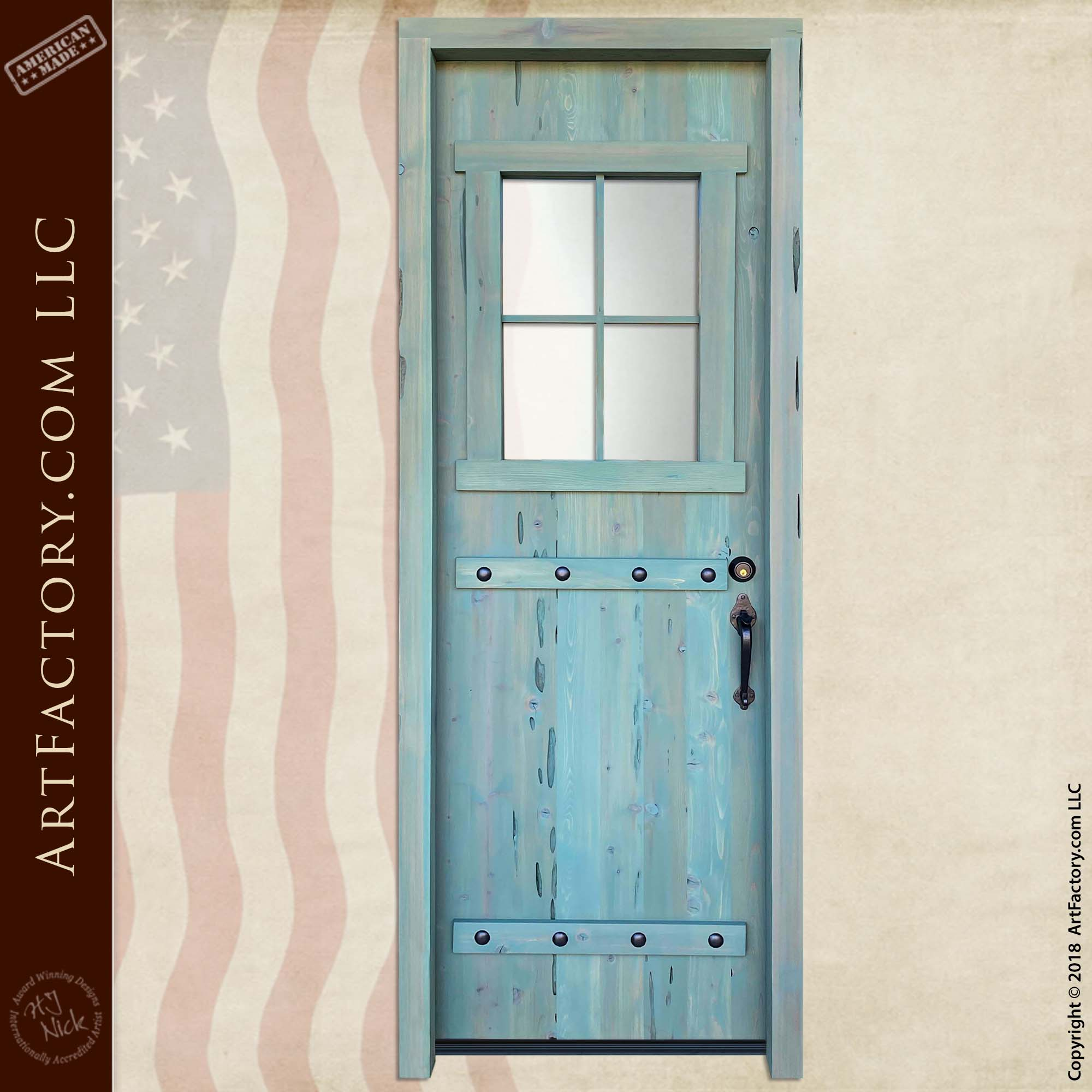 custom farmhouse door main