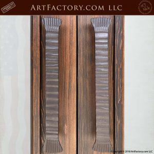 custom fine art iron door handles