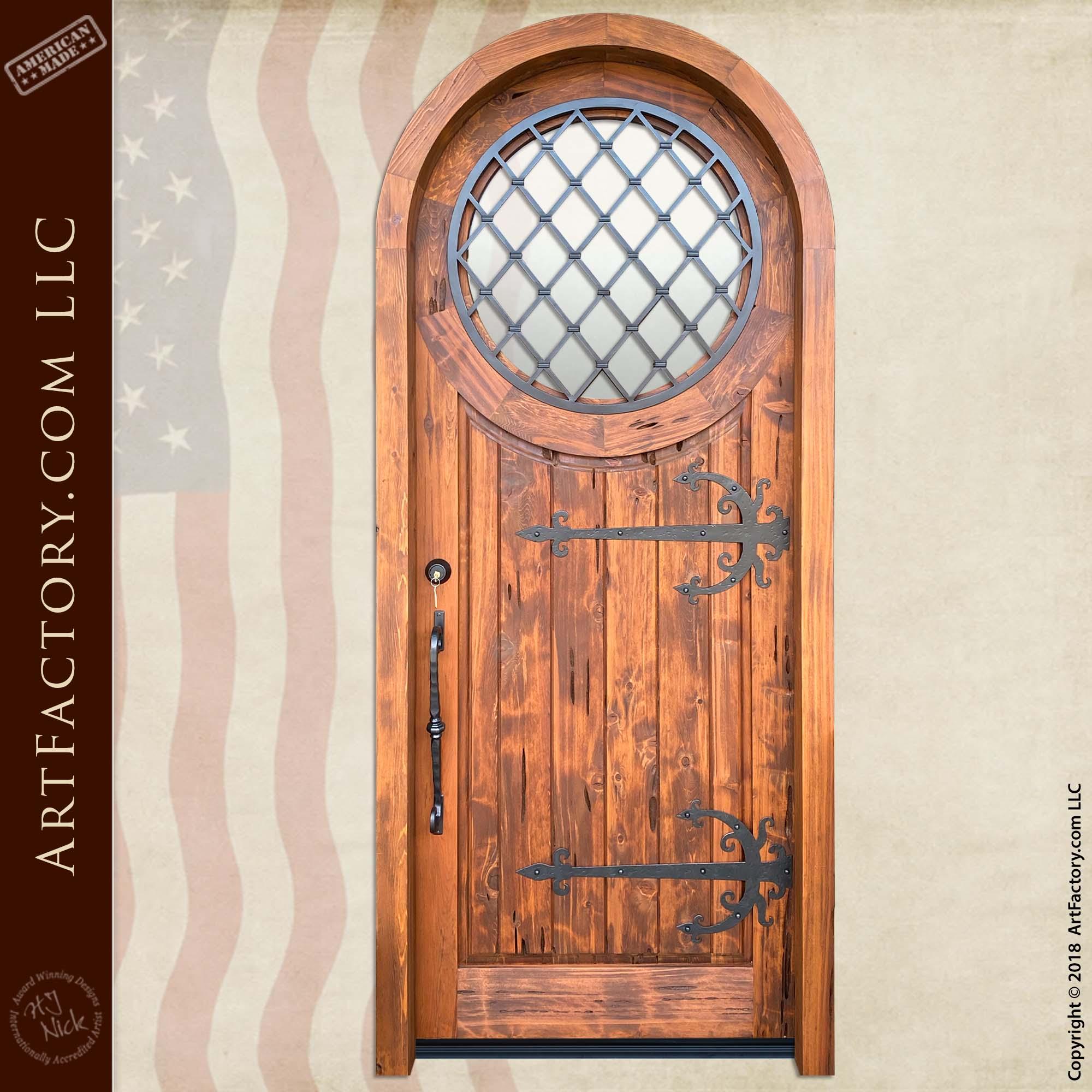 Wooden Medieval Door