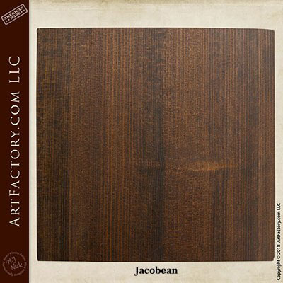 jacobean stain sample