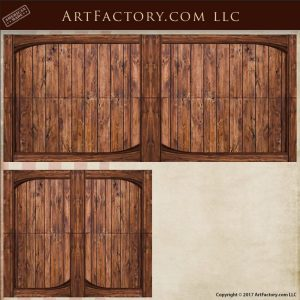 Vertical Plank Custom Gate