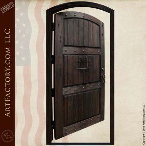 door open position