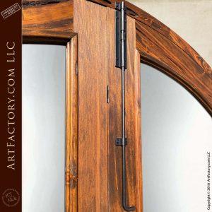 Solid Wood & Iron French Door Design