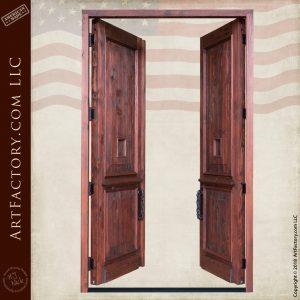 Tall Custom Double Doors