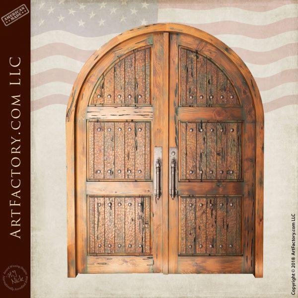 Double Solid Wooden Door