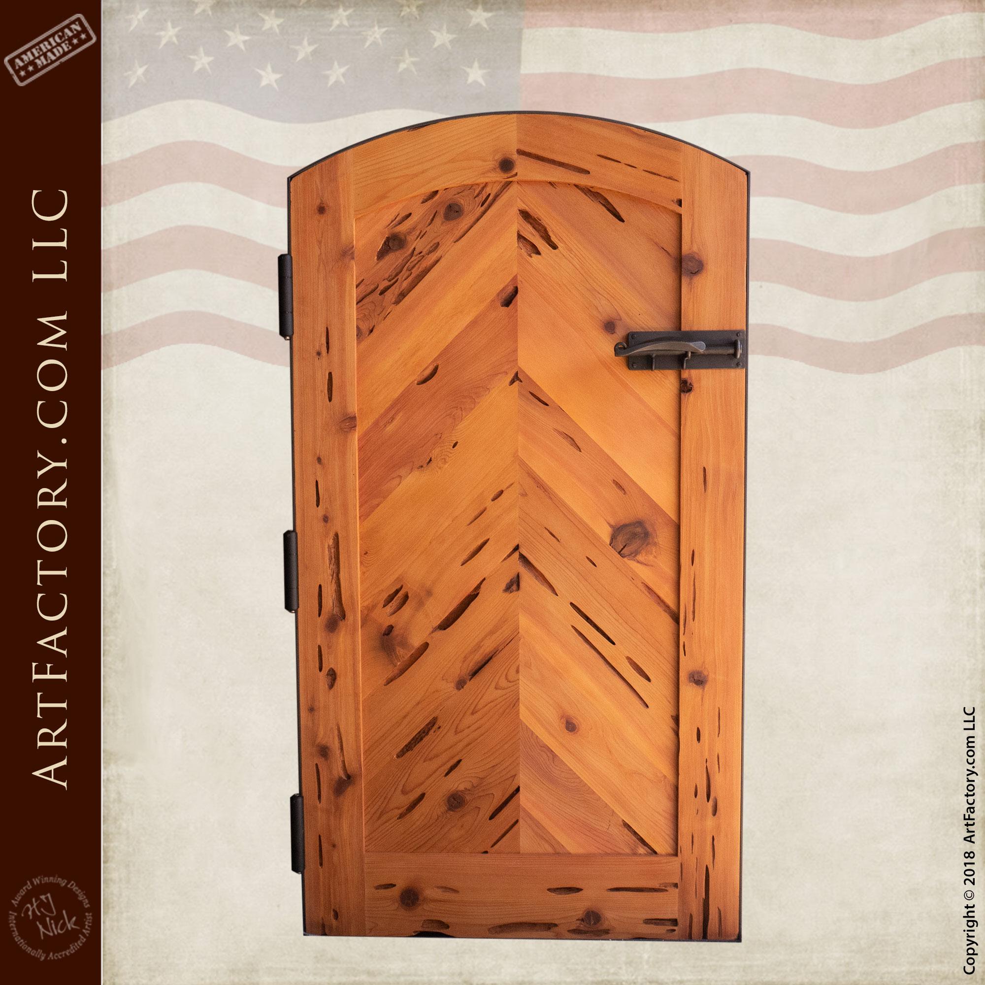 Solid-Wooden-Garden-Gate