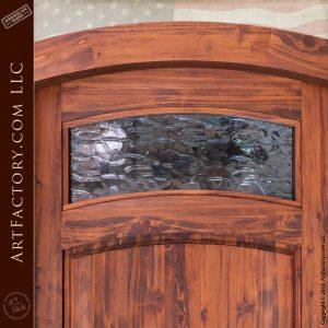 water glass door window