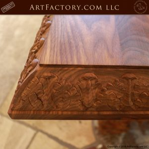 Fine Art Hand Carved Dining Table