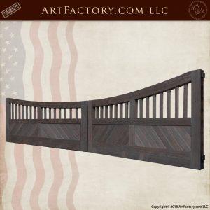 inverted arch Estate Gate