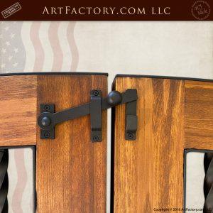 iron gate latch