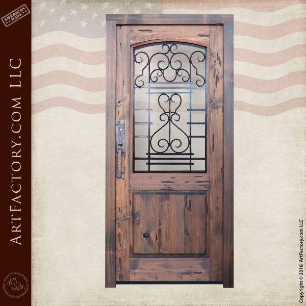 Solid Single Wooden Custom Door