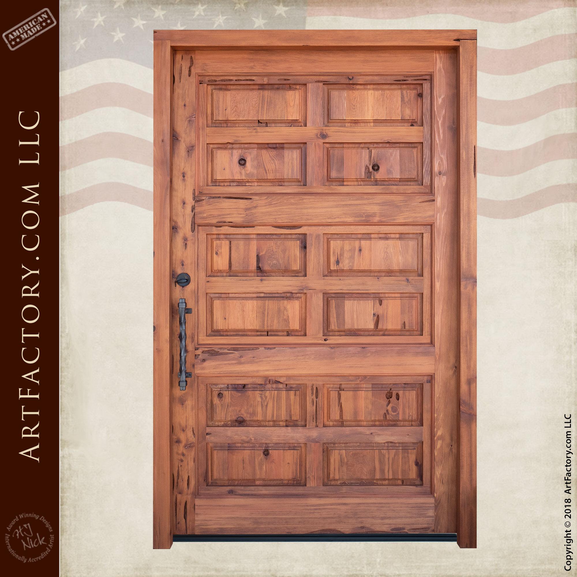 raised panel castle door