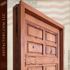 raised panel castle door top
