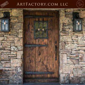 Weathered Wood Craftsman Door