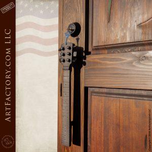 guitar fret door pull