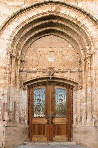 Castle Doors - Castello di Lombardia 12th Cen Italy - 1305CDC
