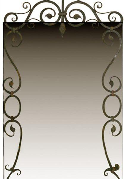 Iron Deco Mirror IMJ473