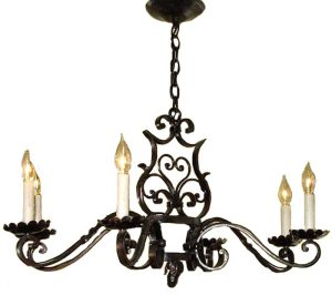 Wrought Iron Chandelier - LC0907