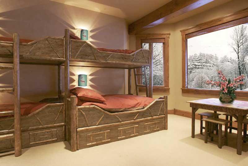 Solid Wood Bunk Beds | Bedroom Furniture | Bunk Beds | Rustic Bedroom  Furniture