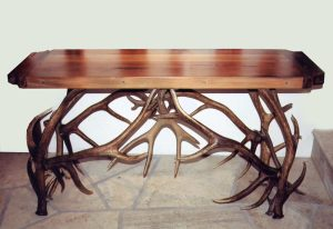 Antler Hall Table - Made In America Since 1913 -  MLST569