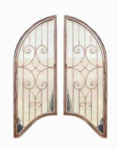 Door Grill - Hand Forged Iron - Ornamental iron -  GR1294