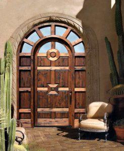 Door - Chateau de Belcastel 9th Cen France - 2297AT