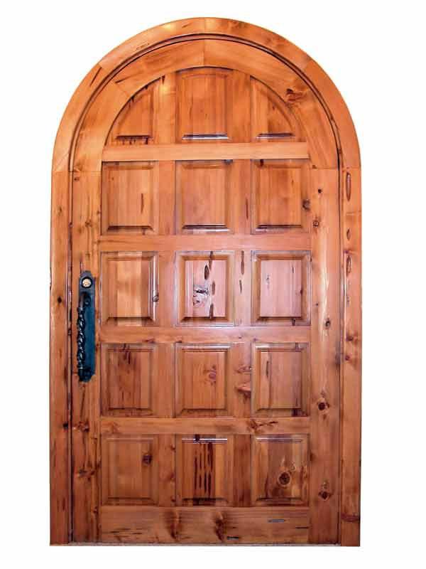 Arched Doors Custom Solid Wood Doors Chateau Doors Exterior